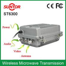 10KM 30KM 50KM long range microwave wireless av transmitter and receiver