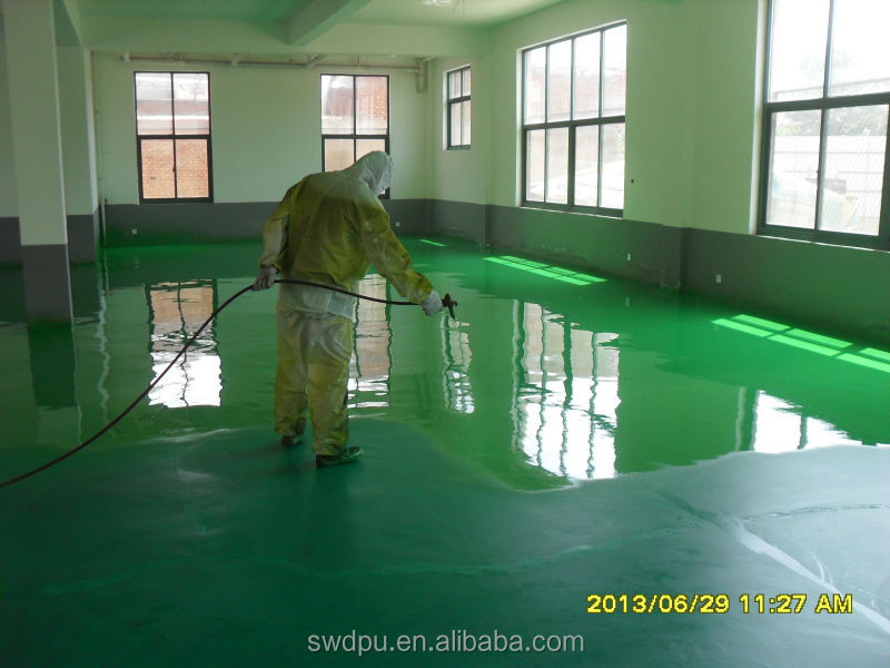 waterproof polyurea floor coating