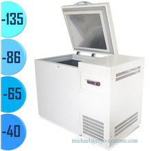 -40 -65 -80 -135 degree ultra-low freezers, biological ultra low freezer and deep temperature refrigerator