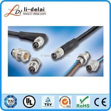 IP67 Waterproof Connectors, M5 Female Line End Weld Line Form