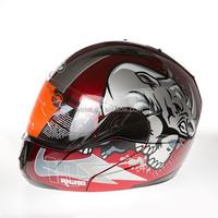 New flip-up helmet motorcycle helmet WLT-168 double visers DOT