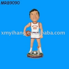 resin basketball man