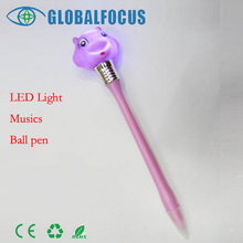 Manufacturers Low price plastic ballpoint pen,Music ball pen