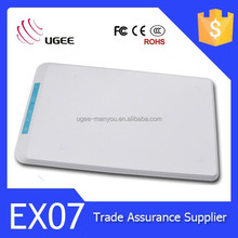 UGEE EX07 Digital Drawing Tablet 2048 level / 5080lpi / 8 inch Active Area
