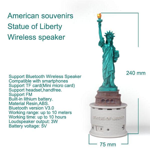 Statue of Liberty Wireless speaker (6).jpg