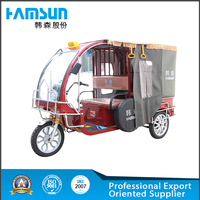 Green rechargeable battery for charging electric tricycle for pick up passengers