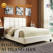 newest design alibaba express hot sale modern faux leather furniture bed