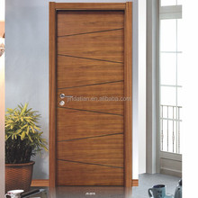 good design solid wood interior flush room door