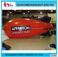Promotional inflatable airplane,customized inflatable blimp for sale
