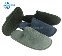 2015 New winter warm man doctor plush indoor slippers