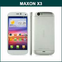 100% Original MAXON X3 MTK6589 1.2GHz Quad Core 5.7 Inch HD Screen Android 4.2 3G Mobile Phone