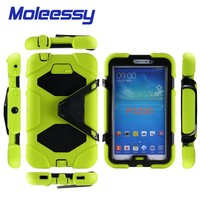 shock proof 7 tablet rugged tablet case for Samsung tab 3/p3200/3201