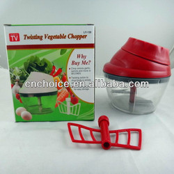 twisting vegetable chopper/vegetable chopper blade