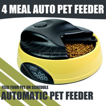 4 meals digitally timed automatic pet feeder