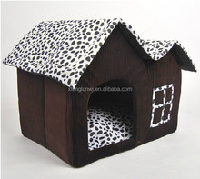 Dog Bed Mat Sofa Cat Sleep Bag Dog House With Double Top Kennel Nest Puppy Pens