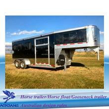 Deluxe Living Quarter , Gooseneck Horse Float