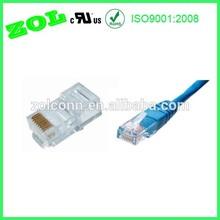cristal rj45 enchufe 8p8c 6p4c 4p4c conector