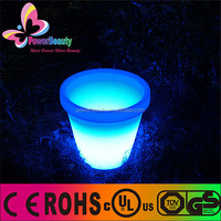 Color Changing Waterproof Planter Hot Sale Rechargeable Solar Lighting Flower Pot