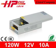 Rainproof 12v 10a power supply manufacturer constant voltage power supply 12v 10a 120w single output ac dc power supply 10a 12v