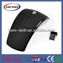2.4ghz usb wireless optical mouse driver/foldable mouse