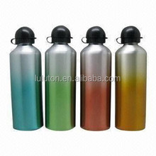 Aluminum Sports Water Bottle With Carabiner BPA FREE