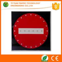 International Intelligent traffic restrictions solar powered led sign board