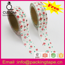 Beautiful jumbo roll masking paper tape picture frames