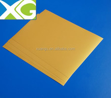 Gold inkjet pvc flexible clear plastic sheet
