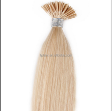 16-28 inch Keratin I Tip Hot Head Fusion Indian Hair Extensions Wholesale