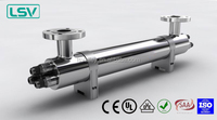 88gpm uv filter sterilizer with higher flow rate for drinking water
