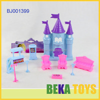 best gift for kids jolly baby toy fairy princess collection toy luxury plastic toy house furniture set in header bag