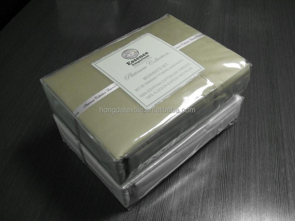 500의 실 조사 이집트 면 침대 시트-침구 세트 -상품 ID:635542938 ...