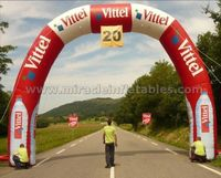 Hot PVC tarpaulin advertising inflatable arch for events C2010