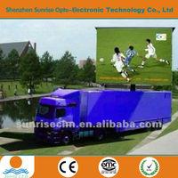 3G/GPRS/WIFI p10 truck mobile led display