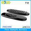 2015 best selling 2.4g gyroscope air mouse for android tv box T10 3d wireless air mouse