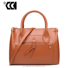 2015 New fashion and simple style Cowhide leather handbag