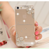 New designed plastic mobile cell phone crystal cases for promotion