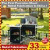 Portable Folding Camping Kitchen Table for Outdoor Cooking