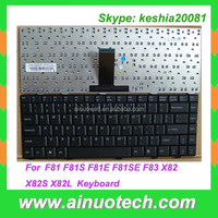 Hot sale laptop keyboards for ASUS F80 F80C F80H F80L F80Q F80S F81 F81S F82 F82Q F83 F83E X82 X85S black Brazilian BR layout
