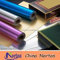 aluminum foil paper/china supplier aluminum foil paper/ customized aluminum laminated foil paper NTP- ALF002B