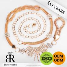 Fashion hanging belt chain Brightness F1-80113