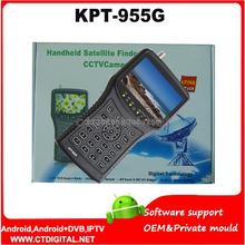 KPT-955G Multi-function Portable Mini HD Satellite Finder Meter WitHandheld hd satellite finder meter KPT-955G dvb-s sat finder