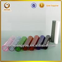 Colored pyrex glass tubing borosilicate glass tube 3.3 for smoking pipe (V-64)