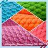 100%polyester colorful microfiber water absorbent fabric