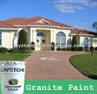 Granite Paint marble range of coatings for cement-based surfaces feature many innovative qualities