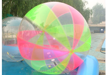 New Arrival Best Quality decorative crystal soil water balls for eco-plant for player inflatable water waking ball