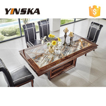 modern italian marble top dining table for dining room furniture