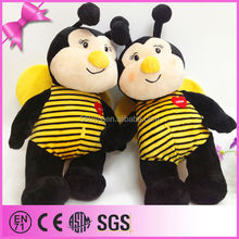 Special stuffed animal toys, big stomache plush bee