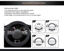 Beautiful Car Silicone/Car Steering Wheel Cover Hot Sale
