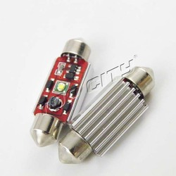 Plug And Play Powerful 5W 31MM 400LM 7000K White 14.5V Canbus Festoon Car Side Wedge Tail Bulbs